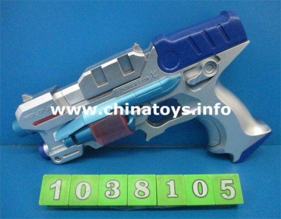 Hot Selling Power Game B/O Gun with Flsahlight (1038102) pictures & photos