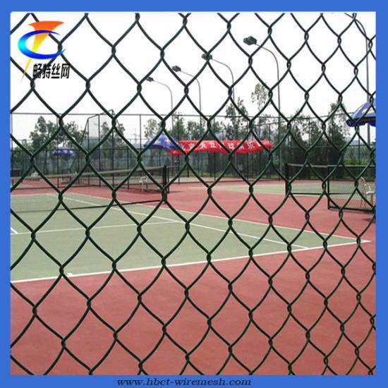 PVC Stadium Chain Link Fence