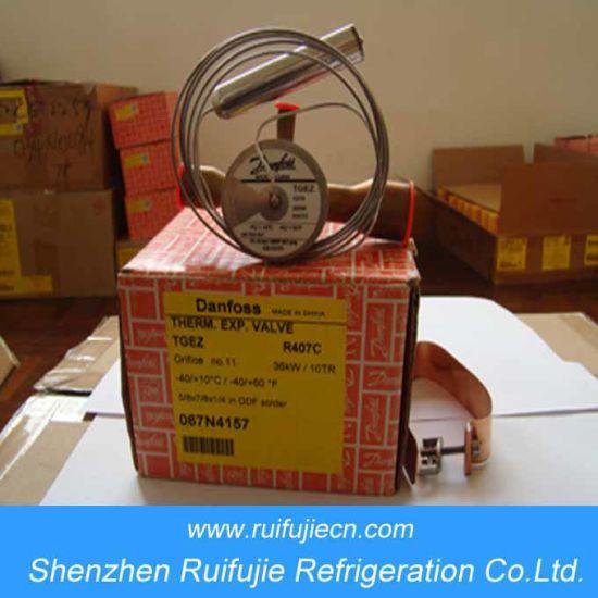 Tgez Series Refrigeration Thermostatic Expansion Valves (067N4157)
