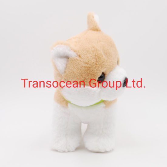 Wholesale Custom Good Quality Cute Shiba Dog Plush Stuffed Toys