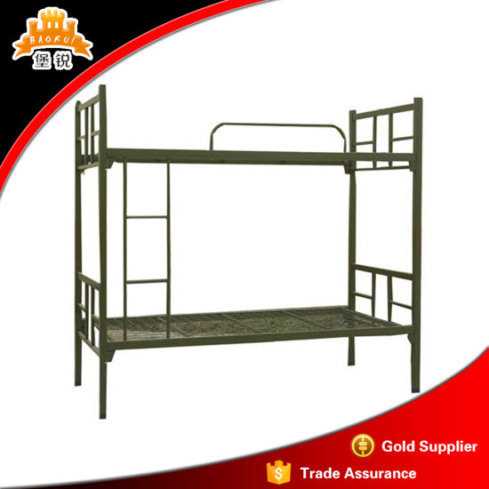 China Metal Military Bunk Bed With High Standard Quality China