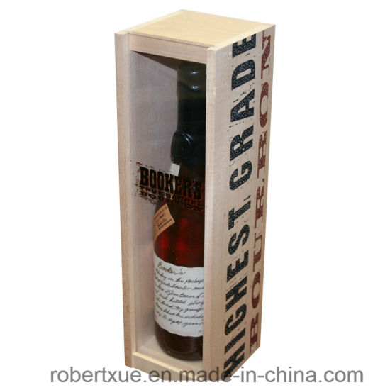China Unfinished Empoty Wooden Wine Boxes For Sale China Wooden