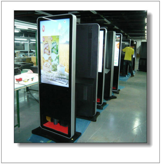 42′′ USB or Network LCD Display with Shoe Polisher pictures & photos