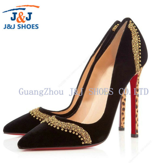 Women Lady High Heel Dress Sexy Party Shoes (JJ-015)