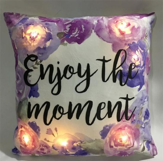 Easter Decorative LED Light up Pillow Cushion for Holiday Season Gift