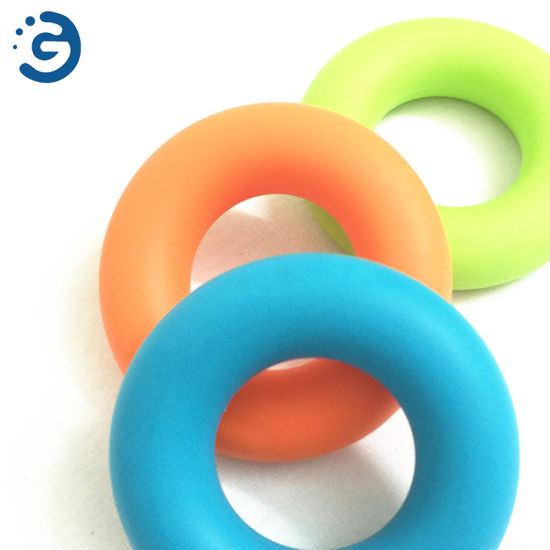 Silica Gel Hand Grip Gripping Ring Carpal Expander Finger Trainer Exerciser
