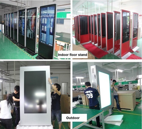 32 Inch Patented Design Digital Signage Advertising Video Display Kiosk pictures & photos