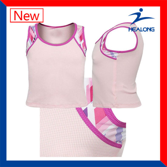 Dry Quickly Dye-Sublimation Shirt Netball Jerseys Sportswear pictures & photos