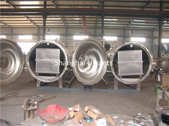 Large Food Sterilizing Autoclave for Long Shelf Life pictures & photos