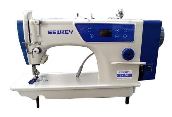 Sk-D8 Direct Drive Computer High Speed Lockstitch Sewing Machine