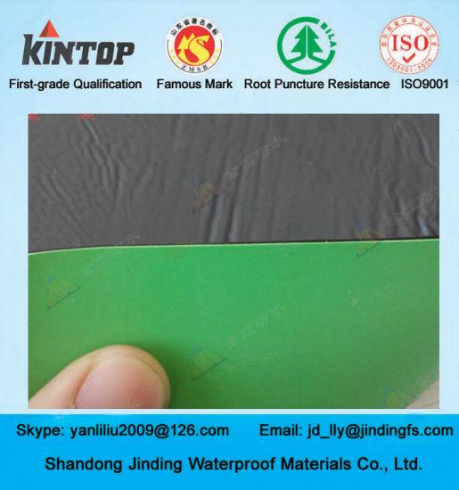 Self-Adhesive Bitumen Membrane with HDPE Top Surfaced