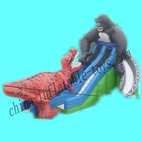Inflatable Slide with Animal Model for Kids (SL-058)