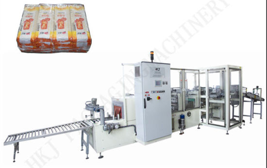 Automatic Spaghetti Bundling Shrink Wrapping/Packing Machine pictures & photos