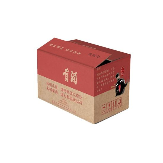 Recycled Strong Corrugated Standard Export Carton Box for Shipping