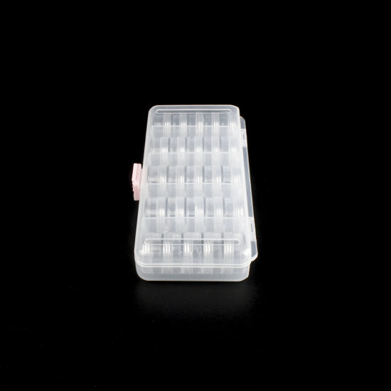 21812 Clear Plastic Storage Box with 25 Inner Boxes