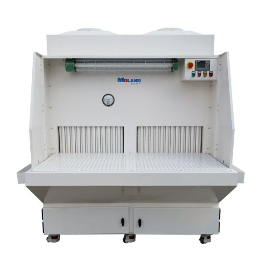 Industrial Cartridge Filter Dust Extraction Downdraft Workbench