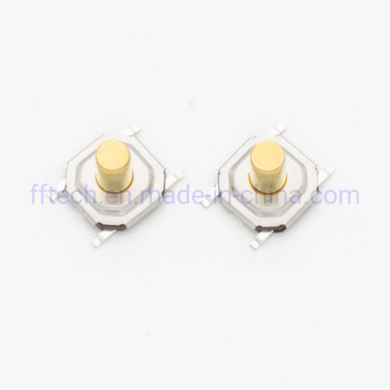 Best Quality Vertical Push Type 5.2*5.2mm 6*6mm Momentary Push Switch Surface Mount SMD Tactile Switch Micro Switch Tact Switch