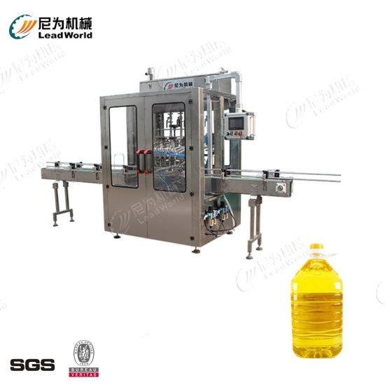 Automatic Liquid Filling Machine Condiment Cooking Edible Oil Honey Shampoo Cleaning Detergent Plastic Glass Bottle Volumetric Filling Machinery