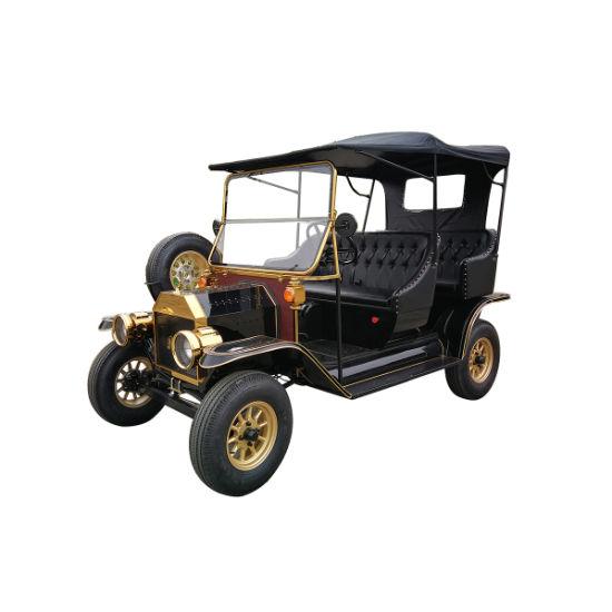 Top Quality AC Motor 5kw Handmade Luxury Hotel Cart Electrical Retro Car
