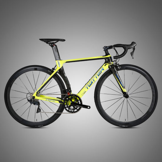 High Quality 23c Tire Bike Carbon Road Bicycle with C-Brake