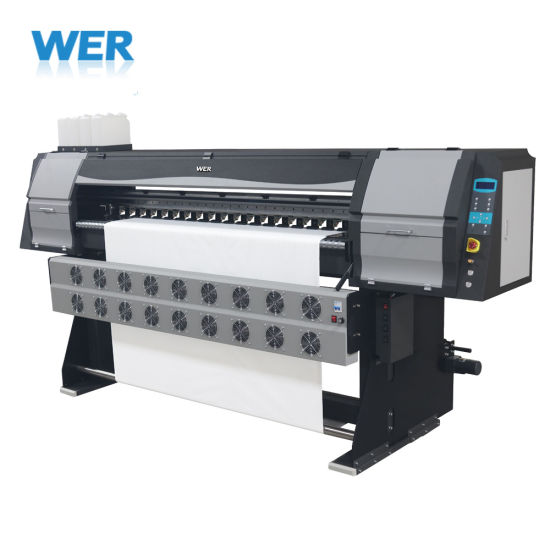Fast Printing Speed 1.8m with Epson Head Sublimation Textile Printer, Dye Sublimation Printer