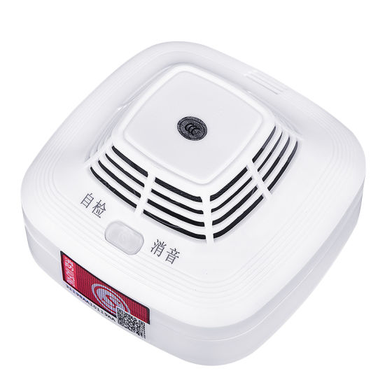Cost Effective 9V Battery Independent Smoke Detector Alarm