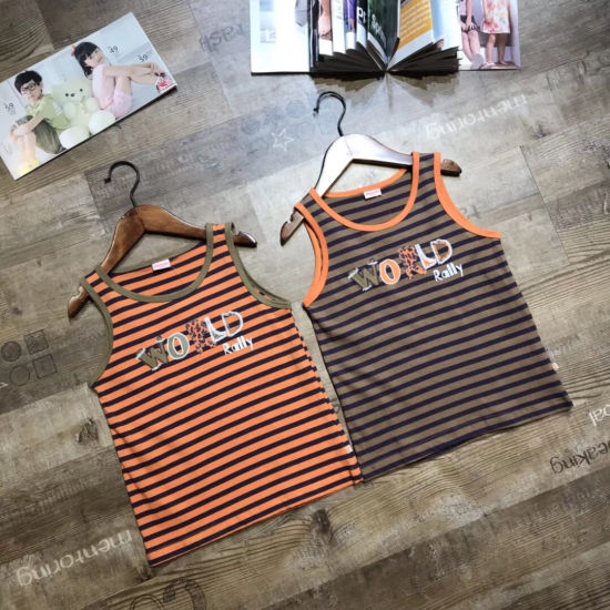 Wholesale Children Clothing Stock Appear Sport Comfortable Cotton Boy Vest