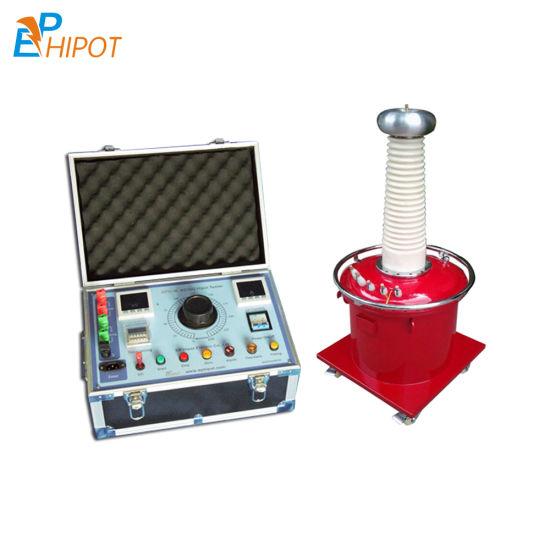 100kv Sf6 Inflated Gas Type Testing Transformer High Voltage Insulation Test Machine AC Hipot Test Kit