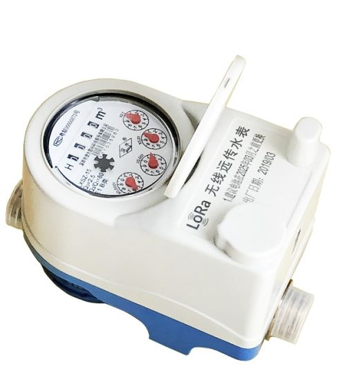 Lora Wan Water Meter Wireless Cold Dry Brass Body