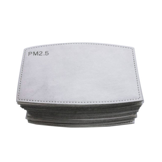 New Replacement Nonwoven 5-Ply Filter Anti Pollution Pm2.5 Air Purifying Activated Carbon Filters for Mask