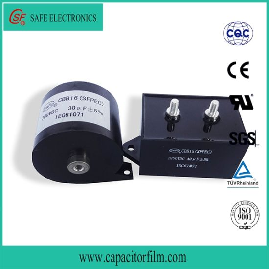 China Cbb15/16 DC Filter Resonance Capacitor for Wire