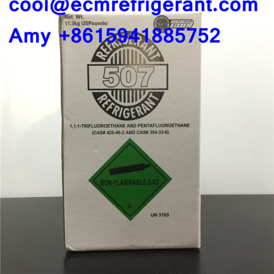 Best Selling Refrigerant Gas R507 Used for AC Compressor