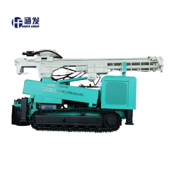 Surface DTH Water Well Drilling Rig From Chinese Manufacturer (HF220Y) pictures & photos