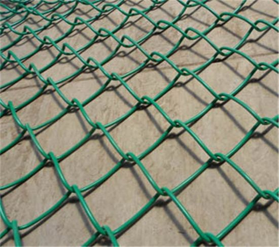 PVC Coated Chain Link Fence /Chain Link Fence/ Wire Mesh pictures & photos