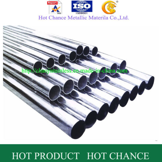ASTM A554 201, 304, 316 Stainless Steel Tube and Pipe pictures & photos