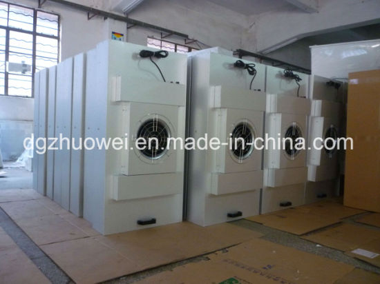 Laboratory Clean Room Class 100 Low Noise Clean Booth with FFU/Down Flow Booth pictures & photos