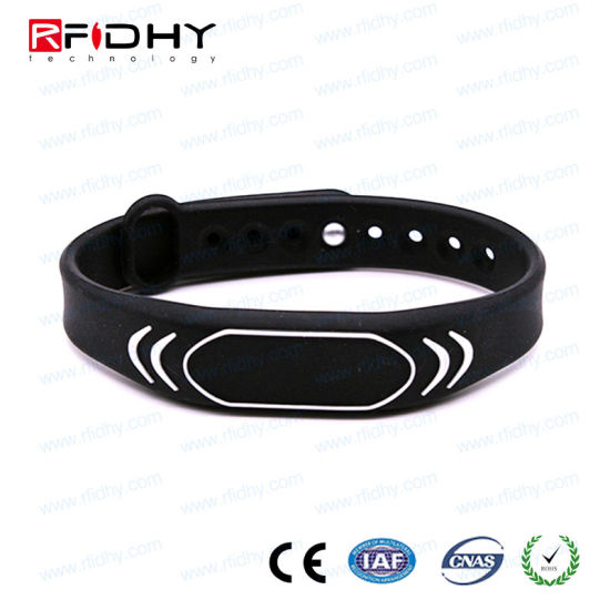 New Products! Factory Price Wholesale 13.56MHz RFID Wristband-Hywgj23 pictures & photos