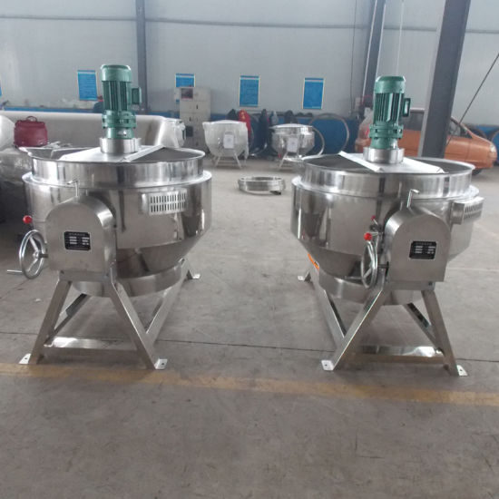 Tilting with Agitator Jacketed Cooking Kettle