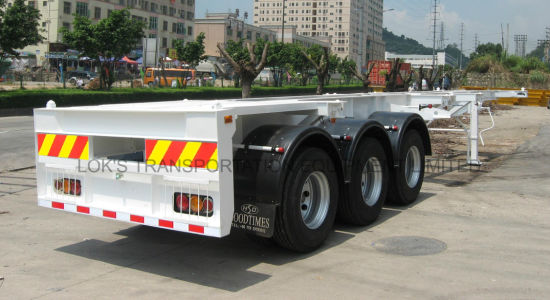 40 Feet 3axles Container Chassis Semi - Trailer pictures & photos