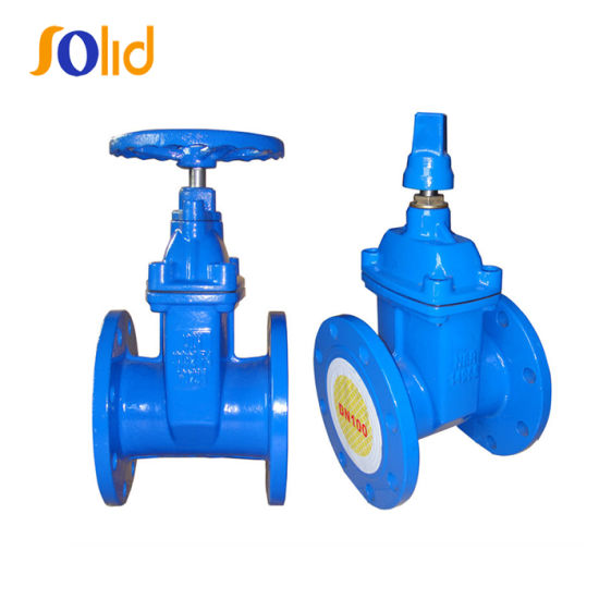 Small Type Ductile Iron Resilient Seated Gate Valve DIN3352 F4 Dn80