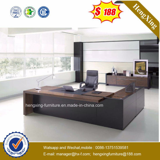 Africa Market Hotel Use Dark Color Executive Desk (HX-ET14041) pictures & photos