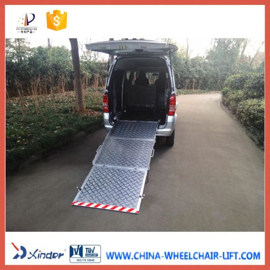 87f5a68a3e China Wheelchair Loading Ramp for Van Aluminum Platform - China ...