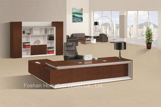 Modern Office Furniture Executive Office Desk Big Boss Office Table  (HF LW0100)