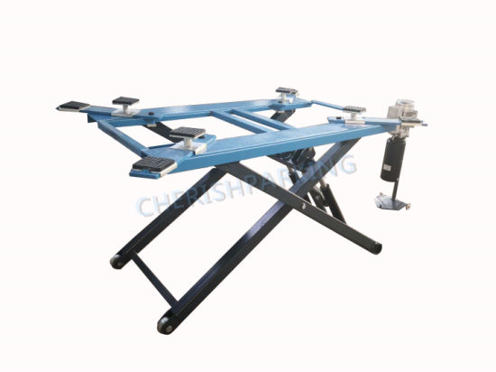 Lifting Height 1200mm and Smart Hydraulic Scissor Car Lift