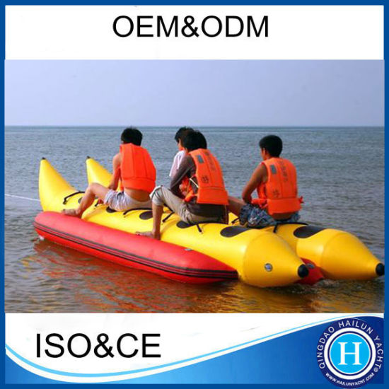 Hot PVC High Speed Fly Fish Inflatable Banana Boat for Sale