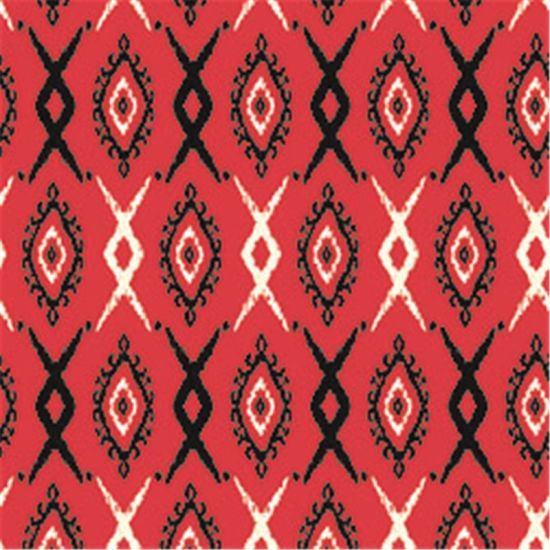 Lady's Fashion Digital Print Wool Fabric (SZ-010)
