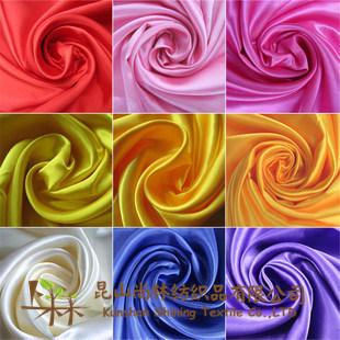 Dress Fabric Polyester Satin pictures & photos