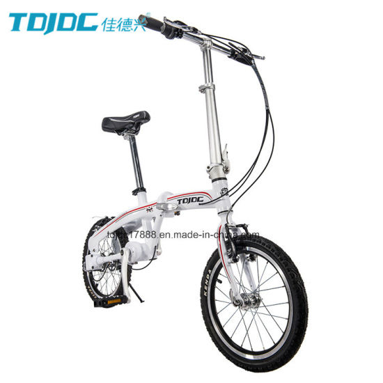 Delightful Mini Shaft Drive Folding Bike Leisure Aluminum Alloy 6061 Frame Bike