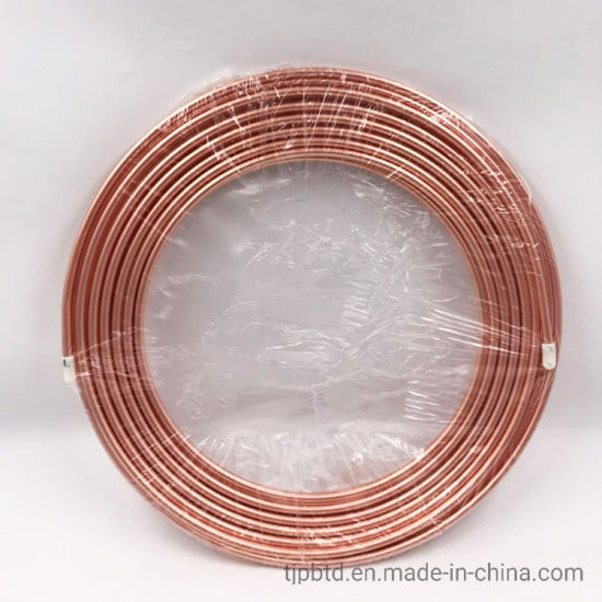 "1"" X 1"" Pancake Pure Copper Coil Pipe for Air Condition and Refrigerator pictures & photos"