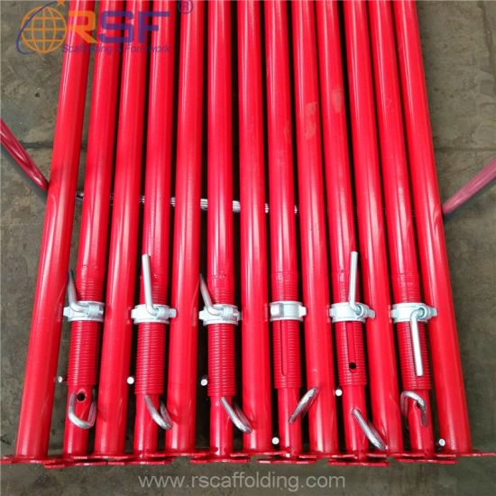 Painting Heavy Duty Scaffold Steel Props Telescopic Struts for Construction